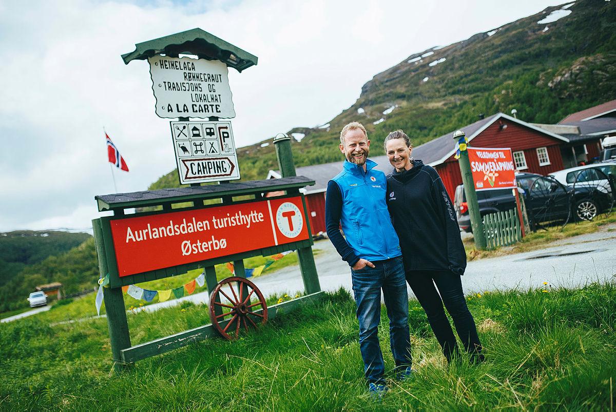 Vertskapet på Aurlandsdalen Turisthytte.