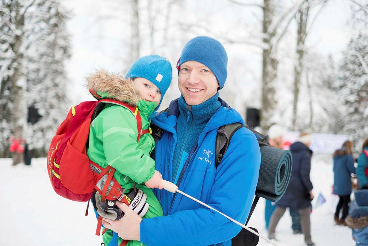 Det var en sjeldent vakker vinterstemning over store deler av landet på DNTs stiftelsesdag 21. januar. Her fra Songsvann i Oslo.