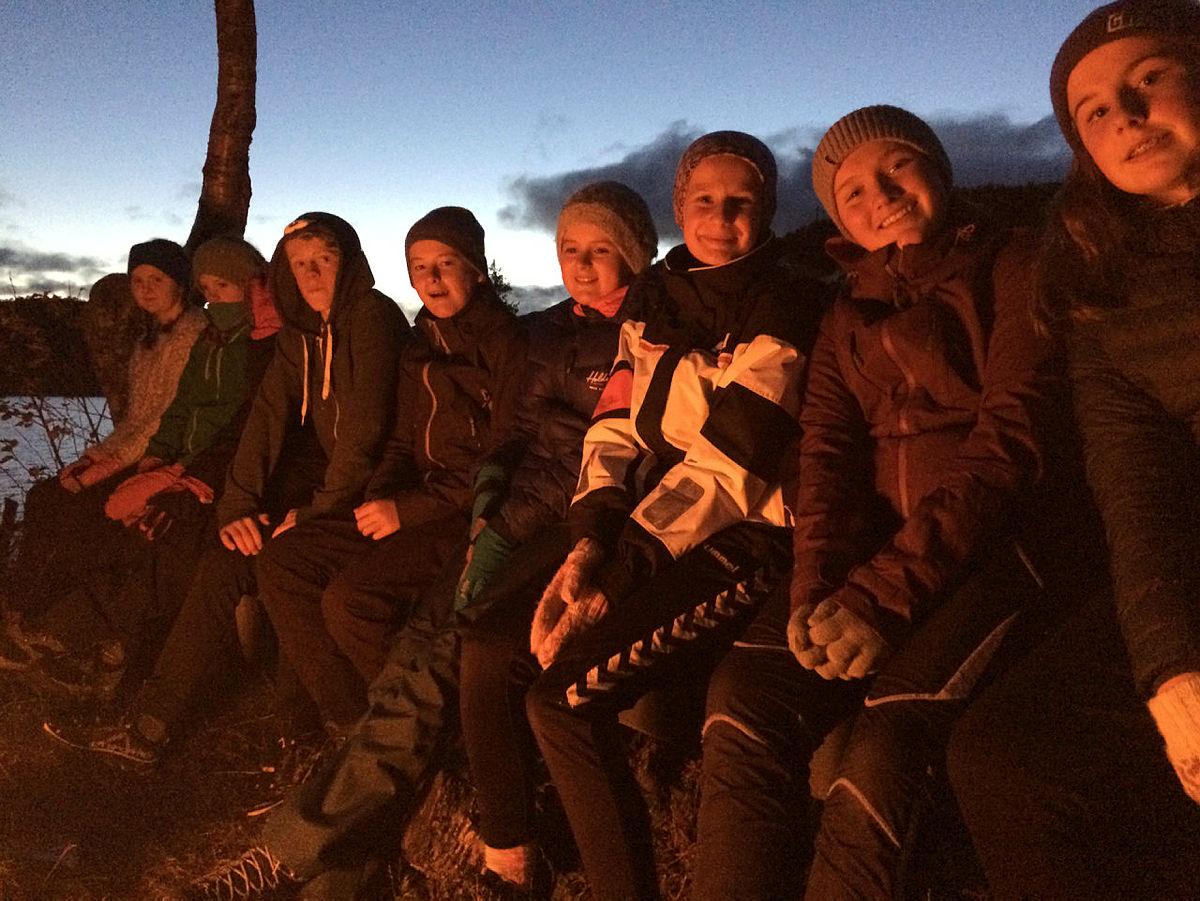 Newtoncamp på Bjørnevasshytta 2018