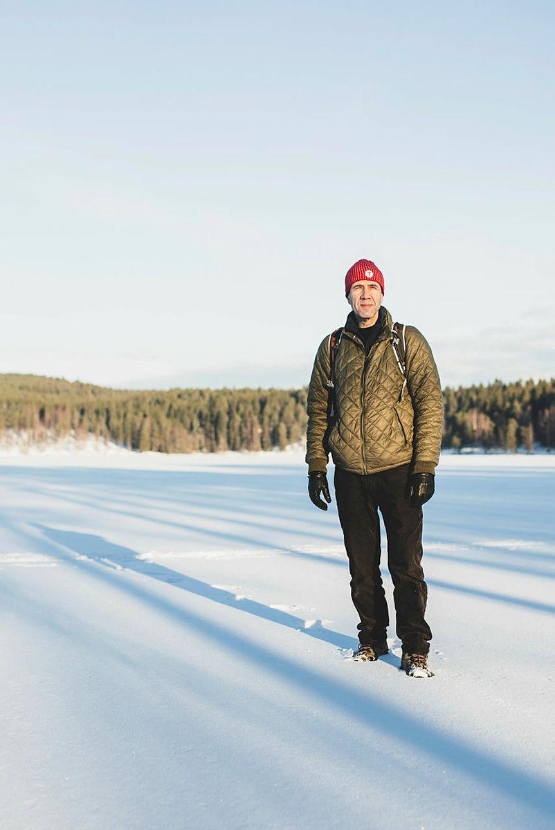 Mehdi Maghsoudi har funnet sin plass i Norge og i den norske naturen. Nå jobber han aktivt med å motivere og veilede flere innvandrere til friluftslivet.