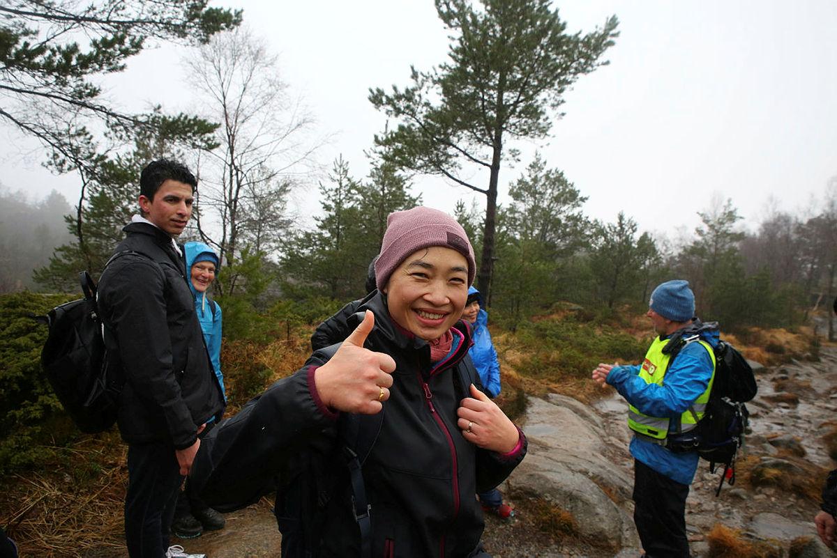 Supassara Odfjell kalles bare Super-Sara etter hun klarte å komme seg opp på Løvstakken.