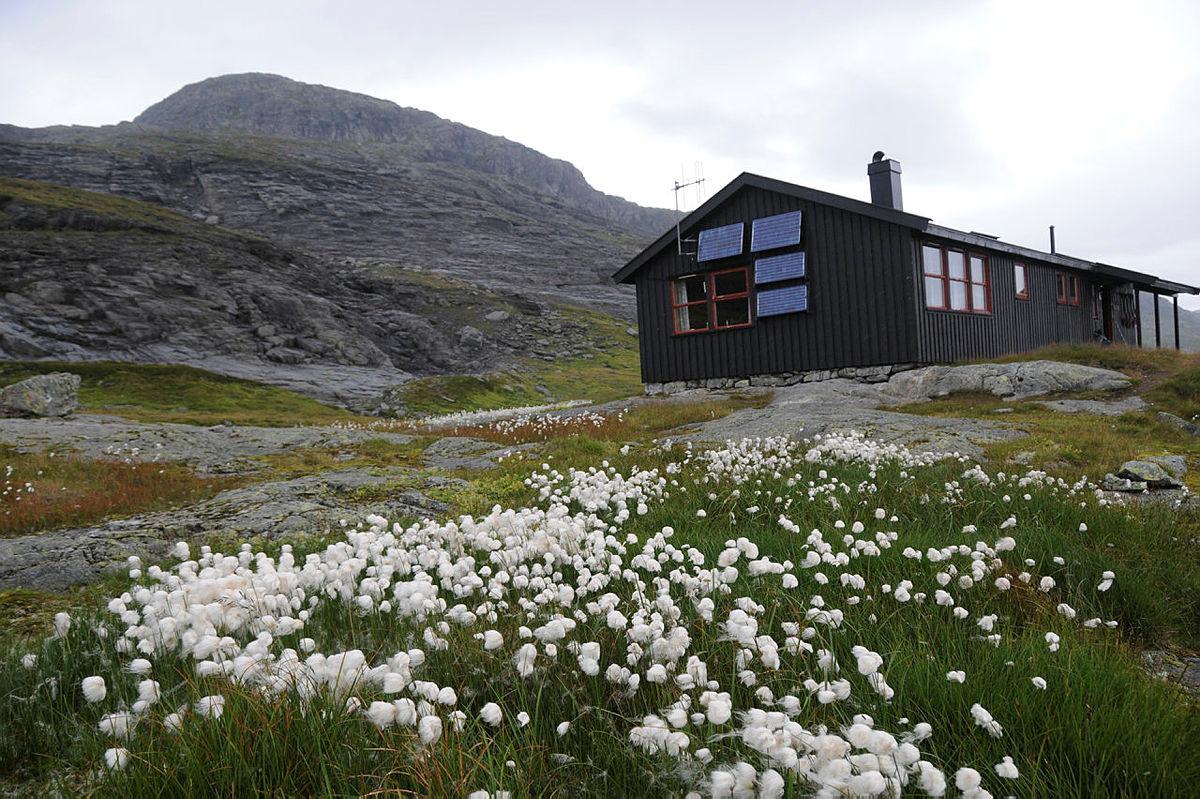 Holmavatn turisthytte. Foto: Kjell Helle-Olsen