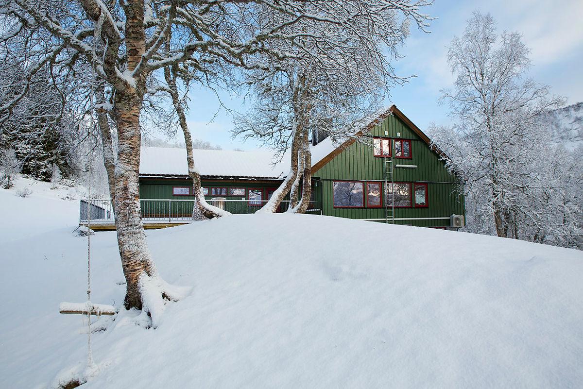 Alexander Grieghytten i Bergsdalen, januar 2020.