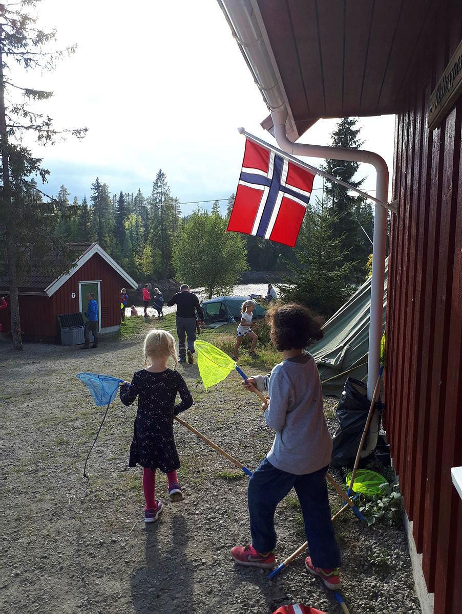Familiecamp på Flekkerhytta 2. september 2017