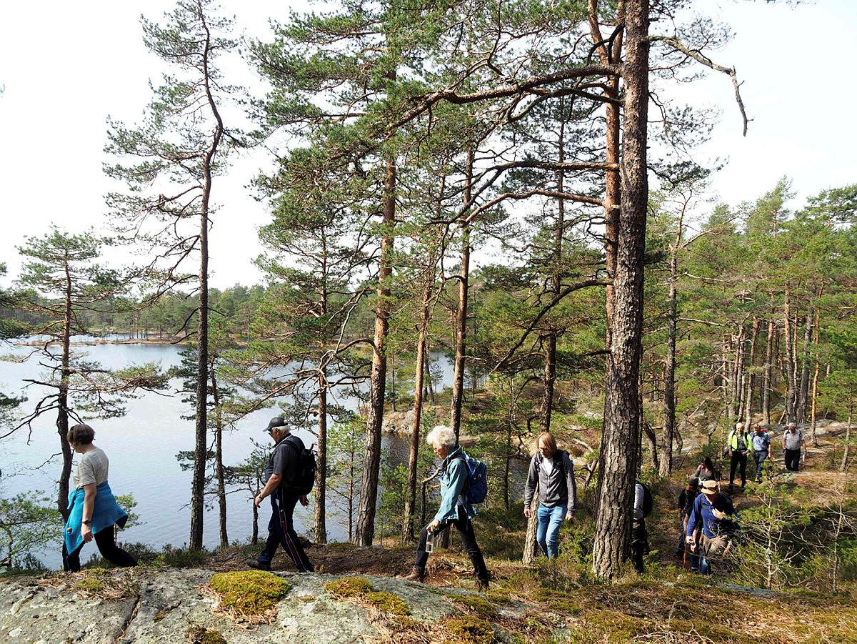 Tur- og Kulturgruppas tur til Krysstjern i Sarpsborg.