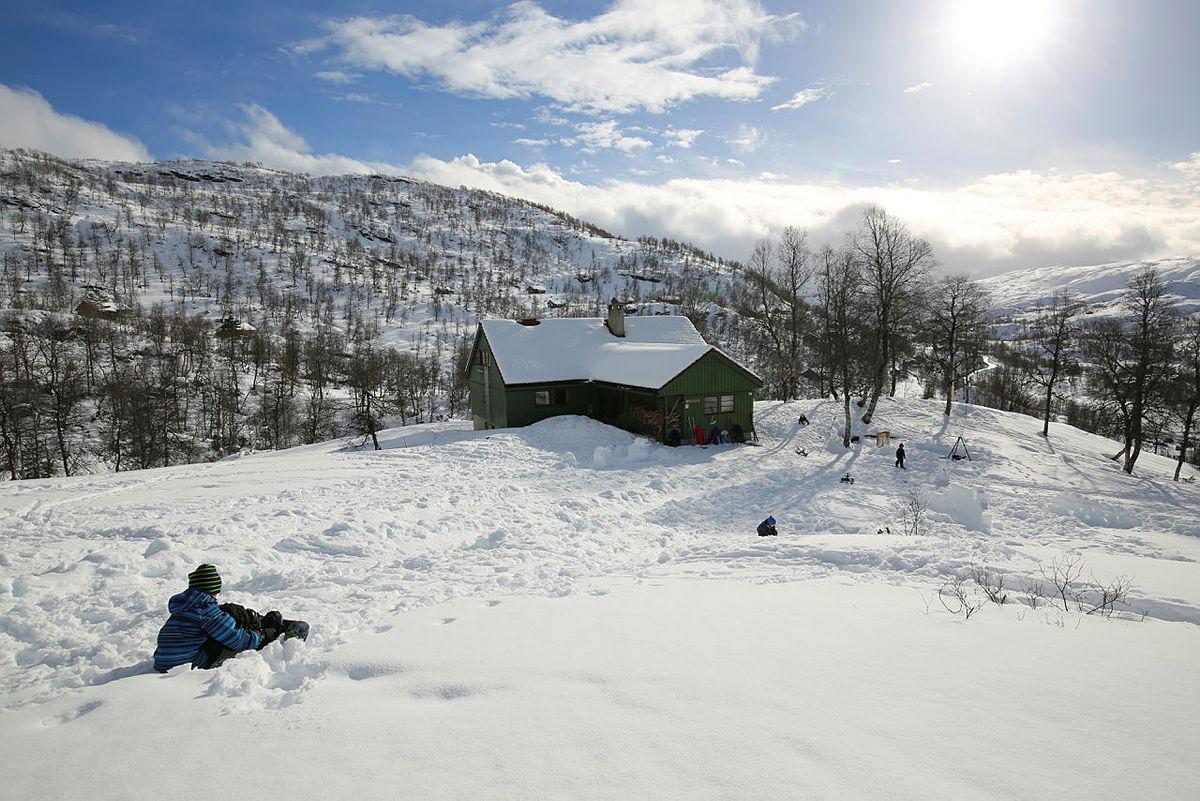 Alexander Grieghytten i Bergsdalen