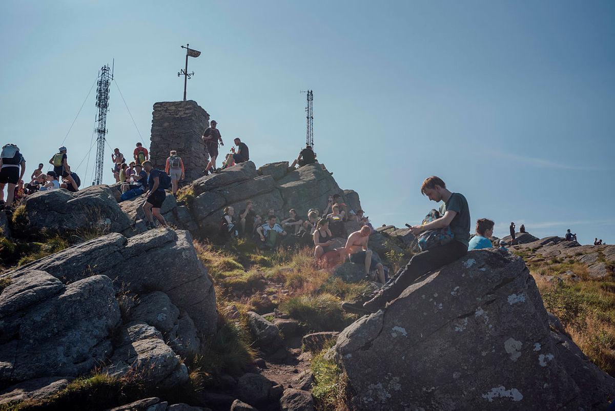 På toppen av Løvstakken