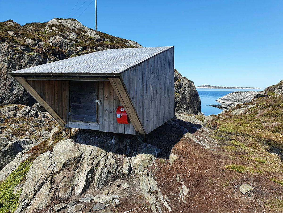 Kabinen på Duvøyna.