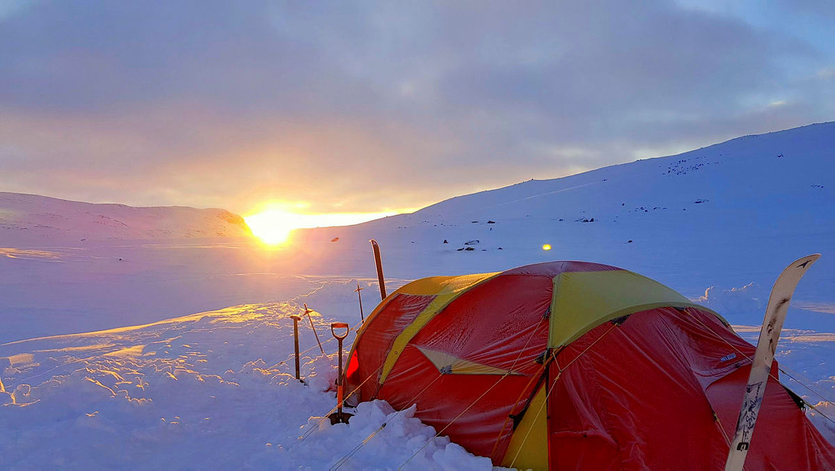 Vinterekspedisjon med Fjellboms