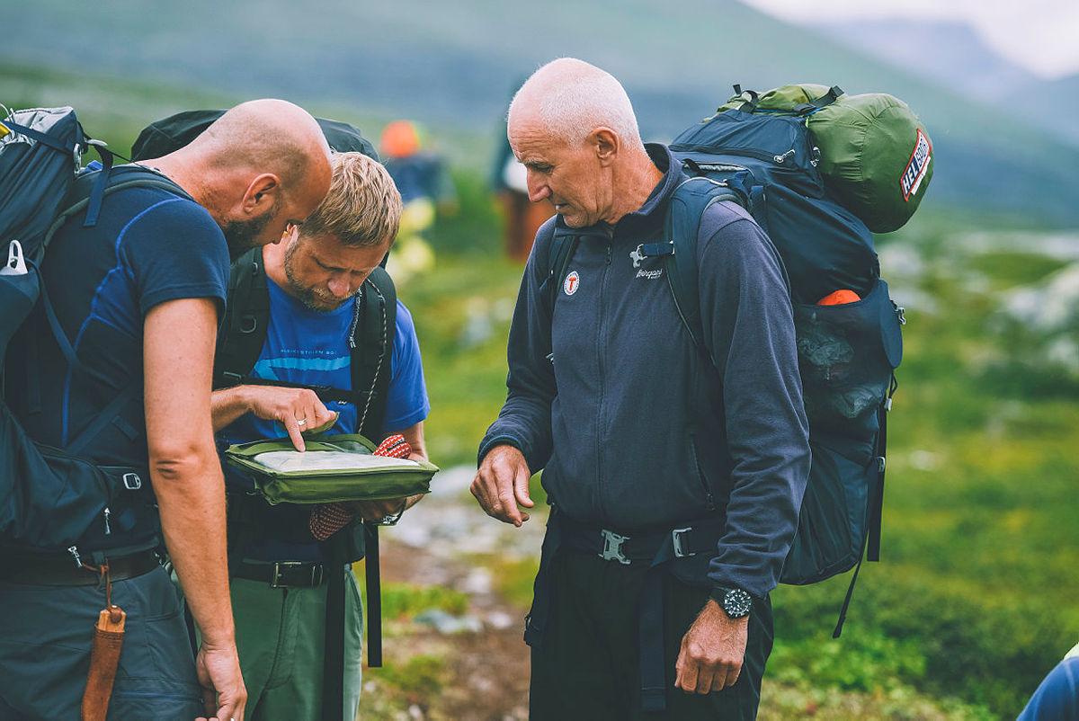 Siste uken av NRKs sommersending i 2018 gikk gjennom Indre Troms via både Sverige og Finland. Bildet er fra turen mot Goldahytta.
