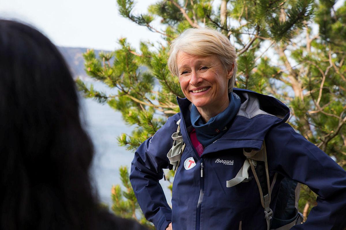 Helene Ødven, daglig leder i Turlaget, mener Bergen kommune og Turlaget har mye kompetanse de kan forene.