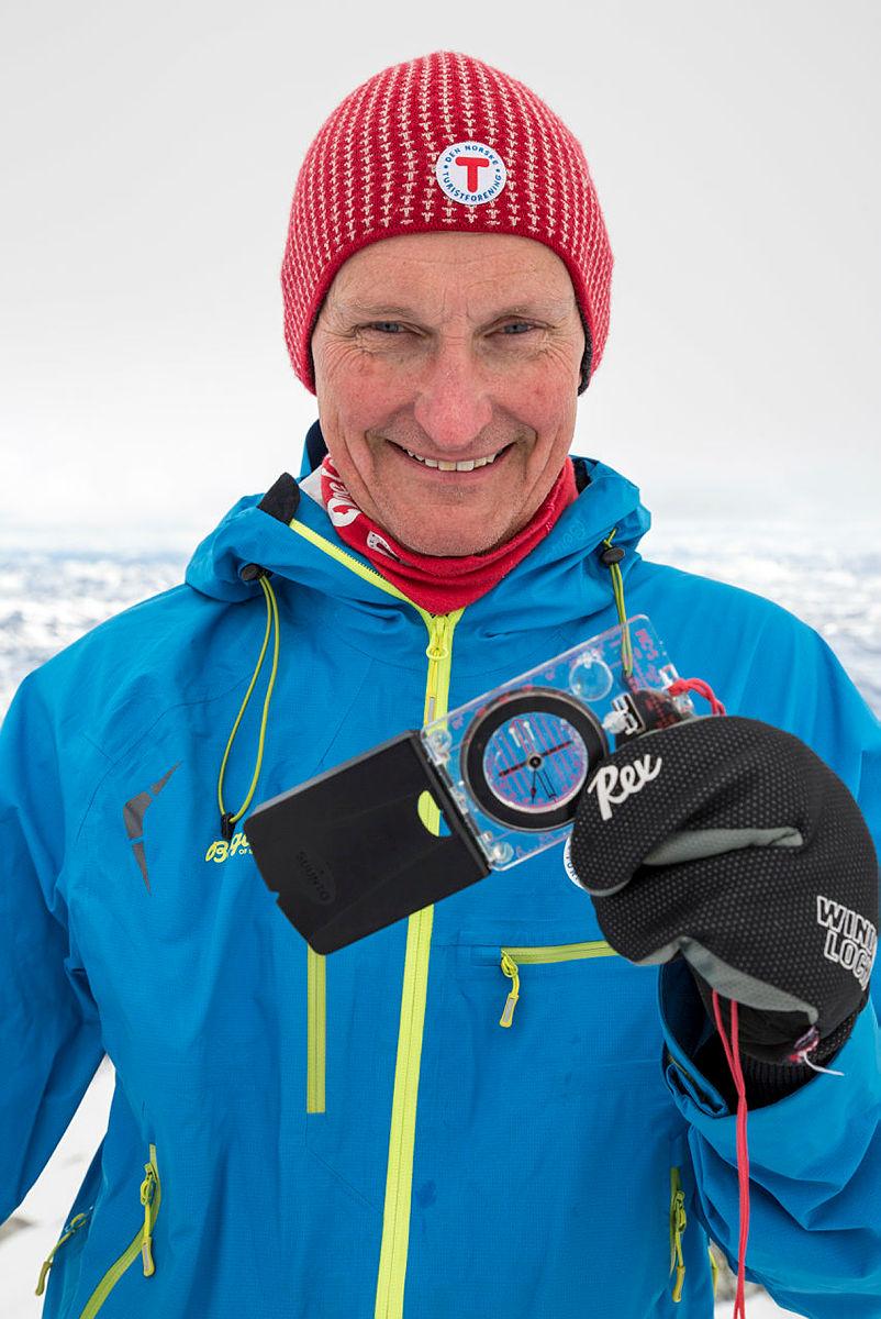 Nils Øveraas, generalsekretær i DNT.