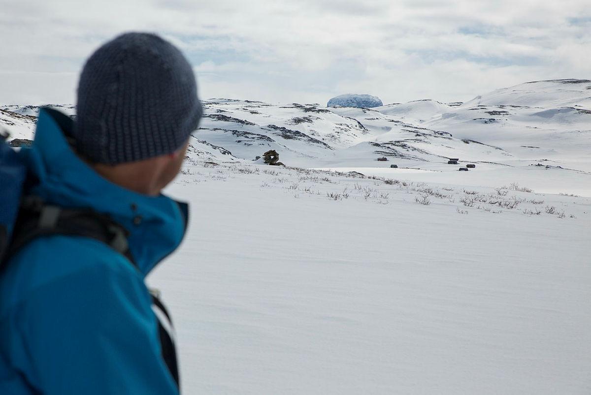 Utsikt mot Hårteigen.
