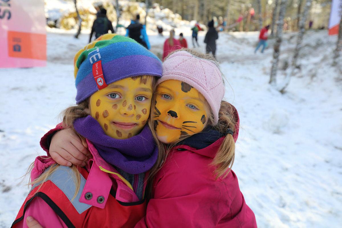Kom deg ut-dagen vinter 2020 på Fløysletten