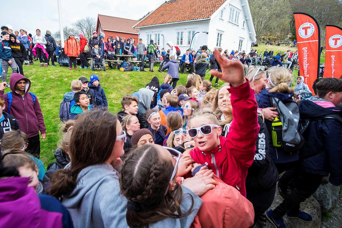 OPPTUR på Gramstad i Sandnes.