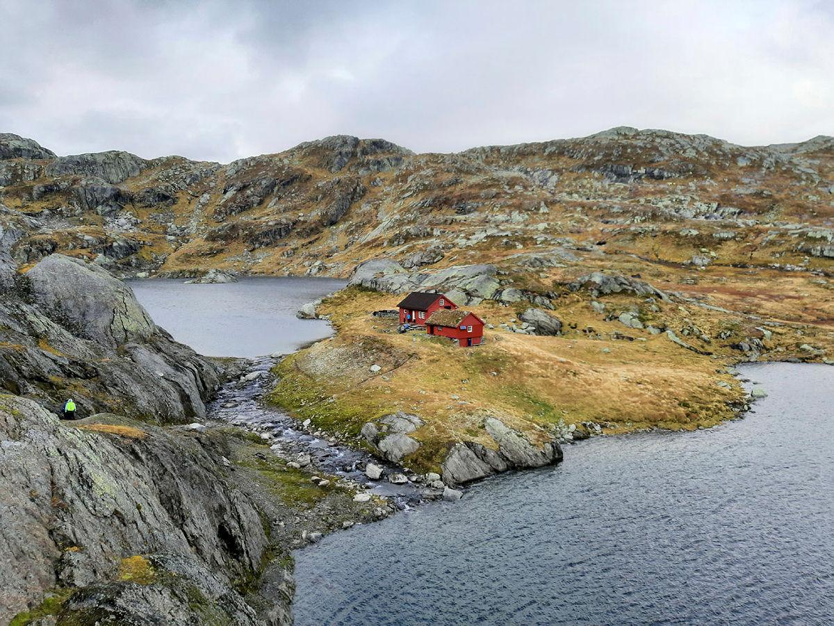 Opning av hytta på Tvinnestølen, 2.-3. oktober 2021