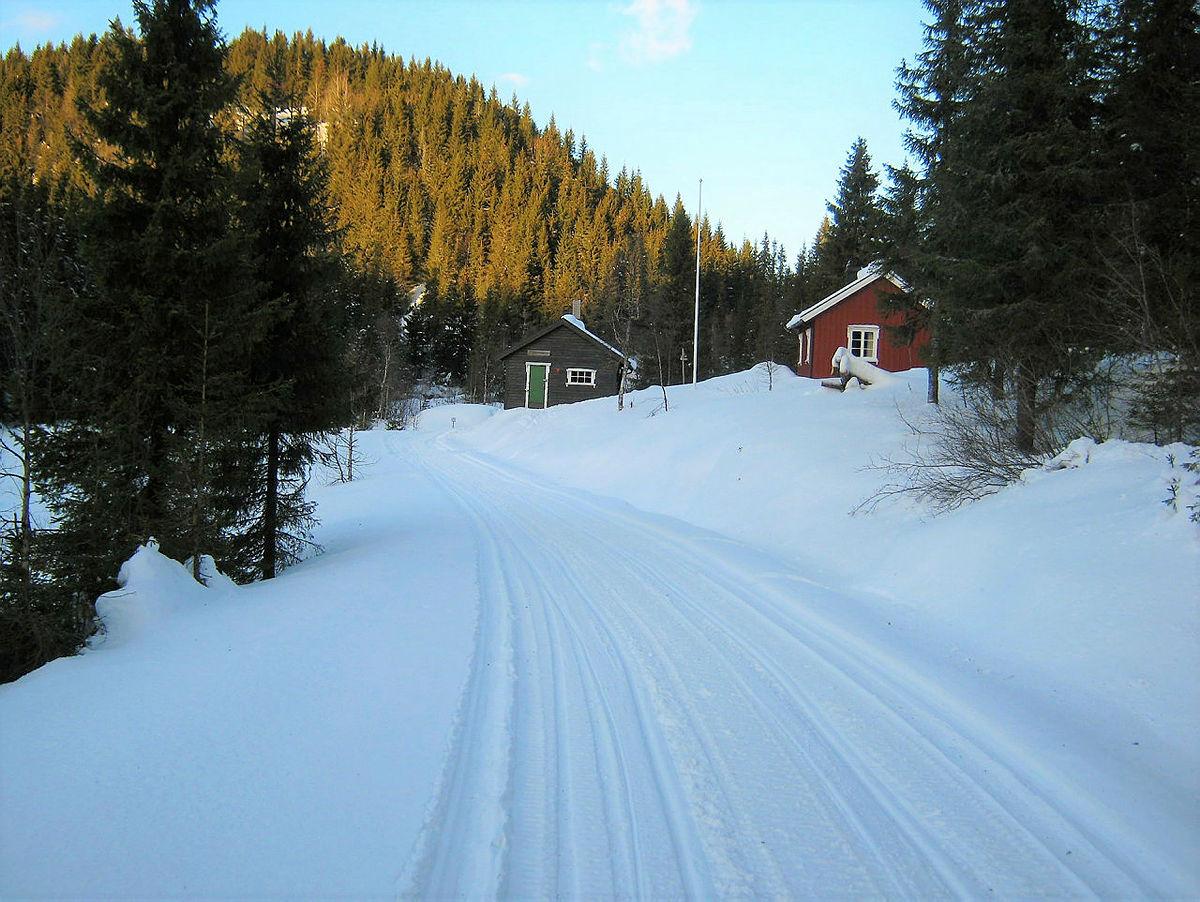 På ski til Sommerseter