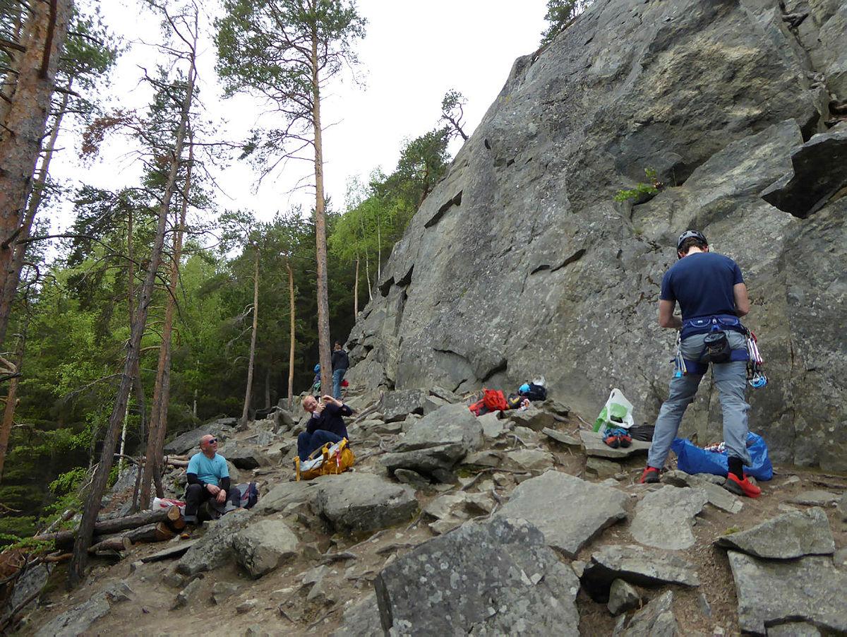 Klatring Tronoberget klatrefelt