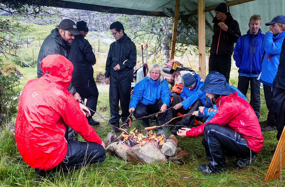 DNT Tilrettelagt Ungdomstur til Taumevatn august 2018