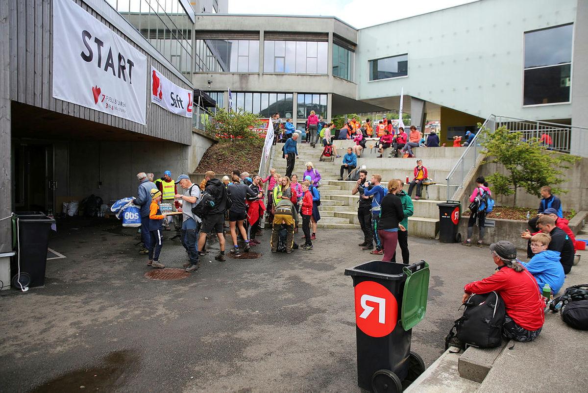 7-fjellsturen, Årstad, 26. mai 2019.