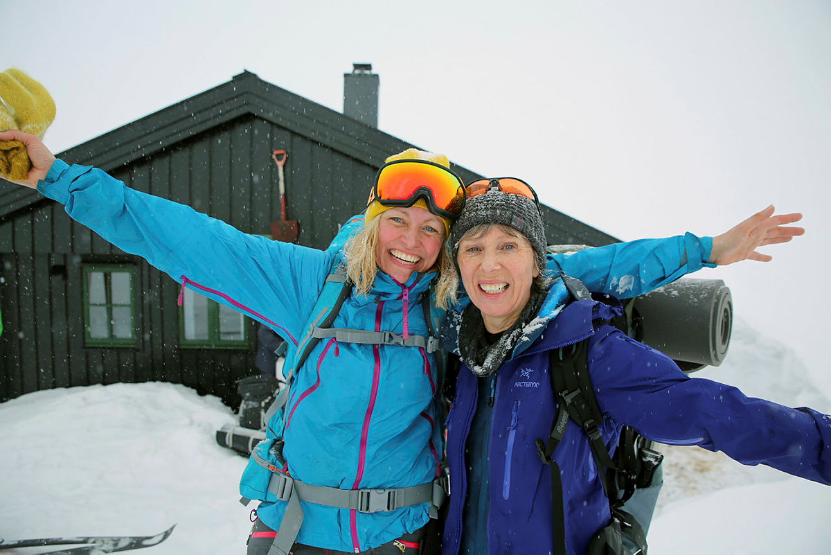 Anbefalte skiturer i mars