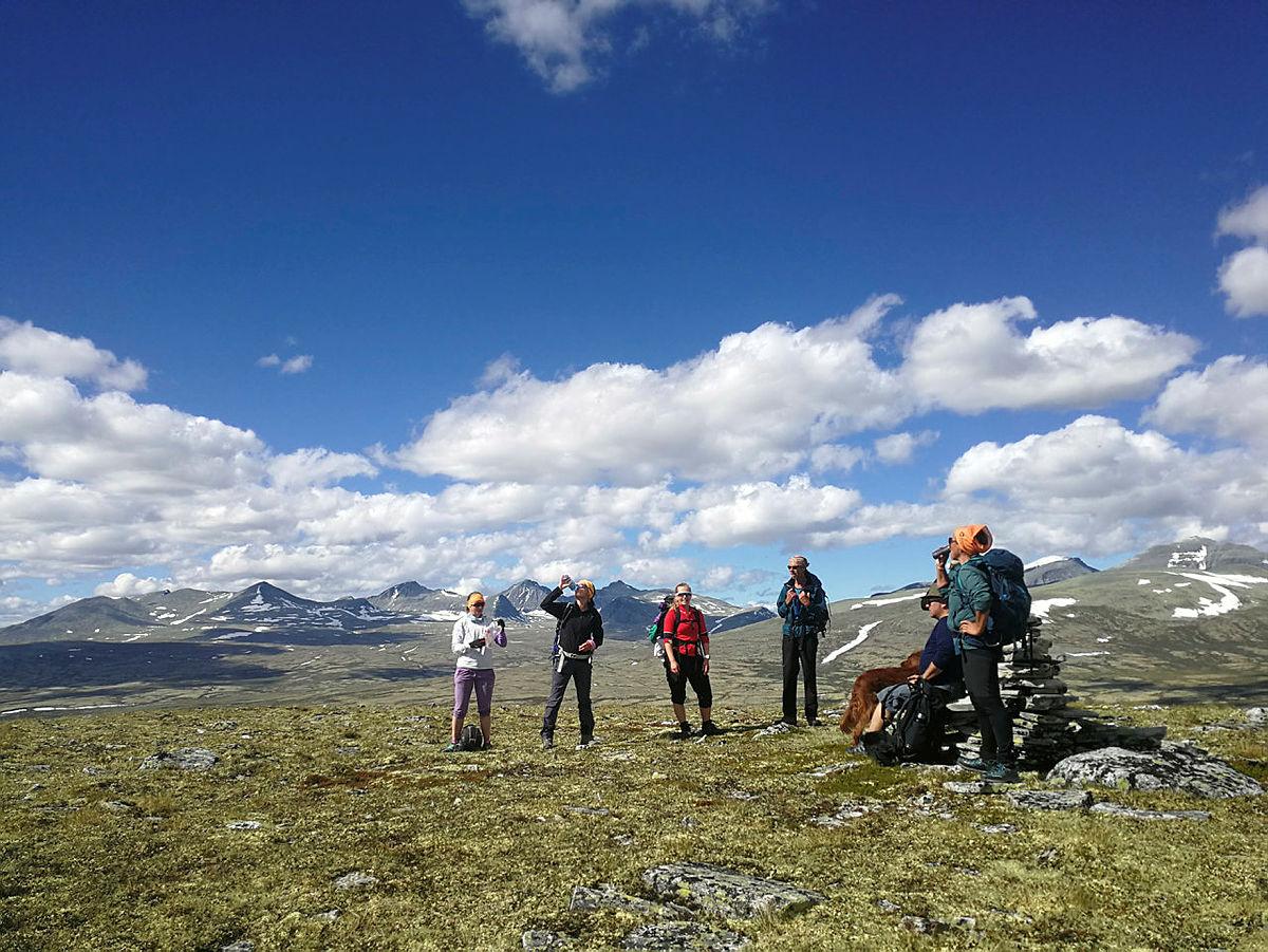 Årets 7-fjellstur