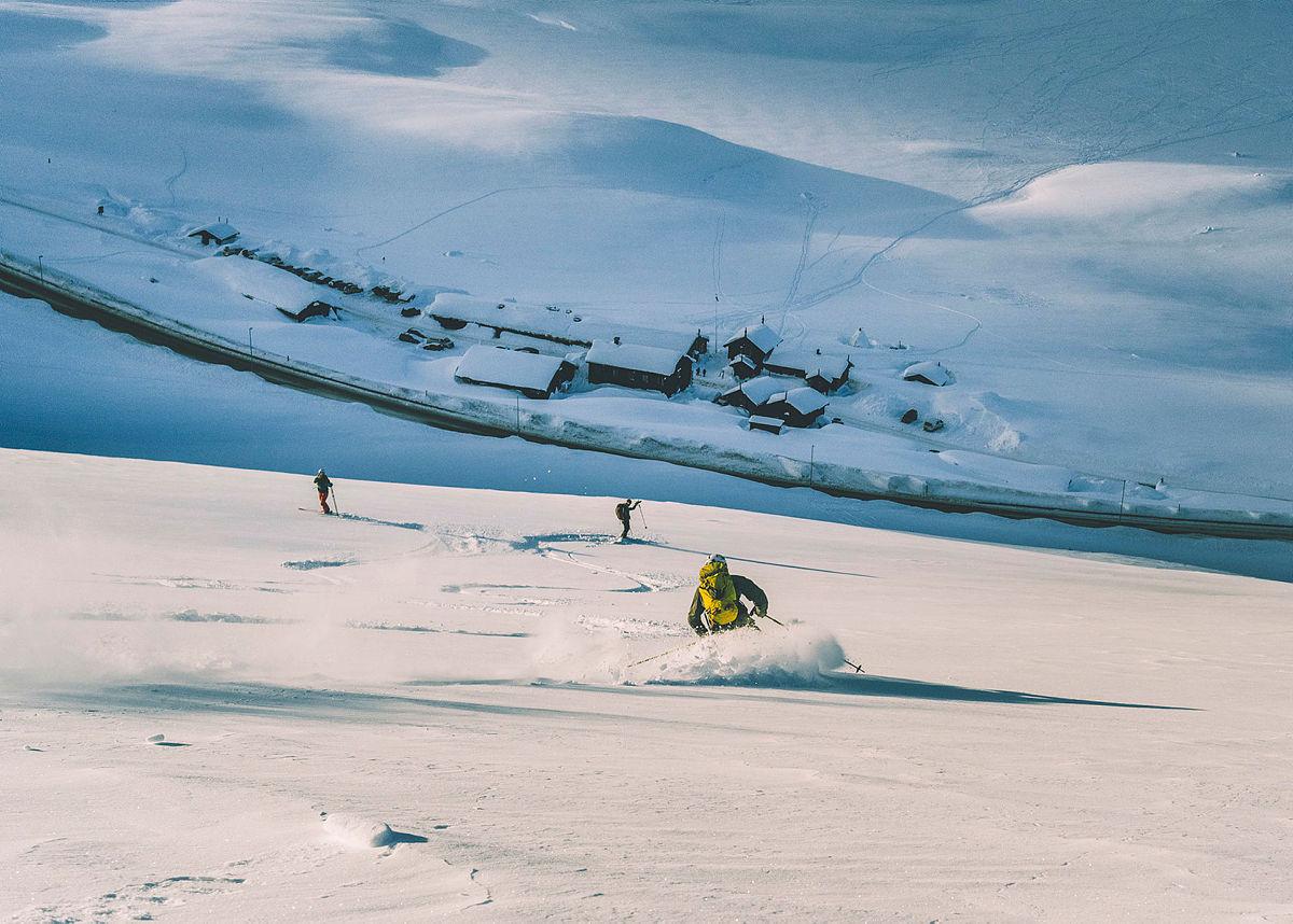 P-bakken er en av de mest gåtte turene på Haukeliseter. Bildet er fra tidligere sesong