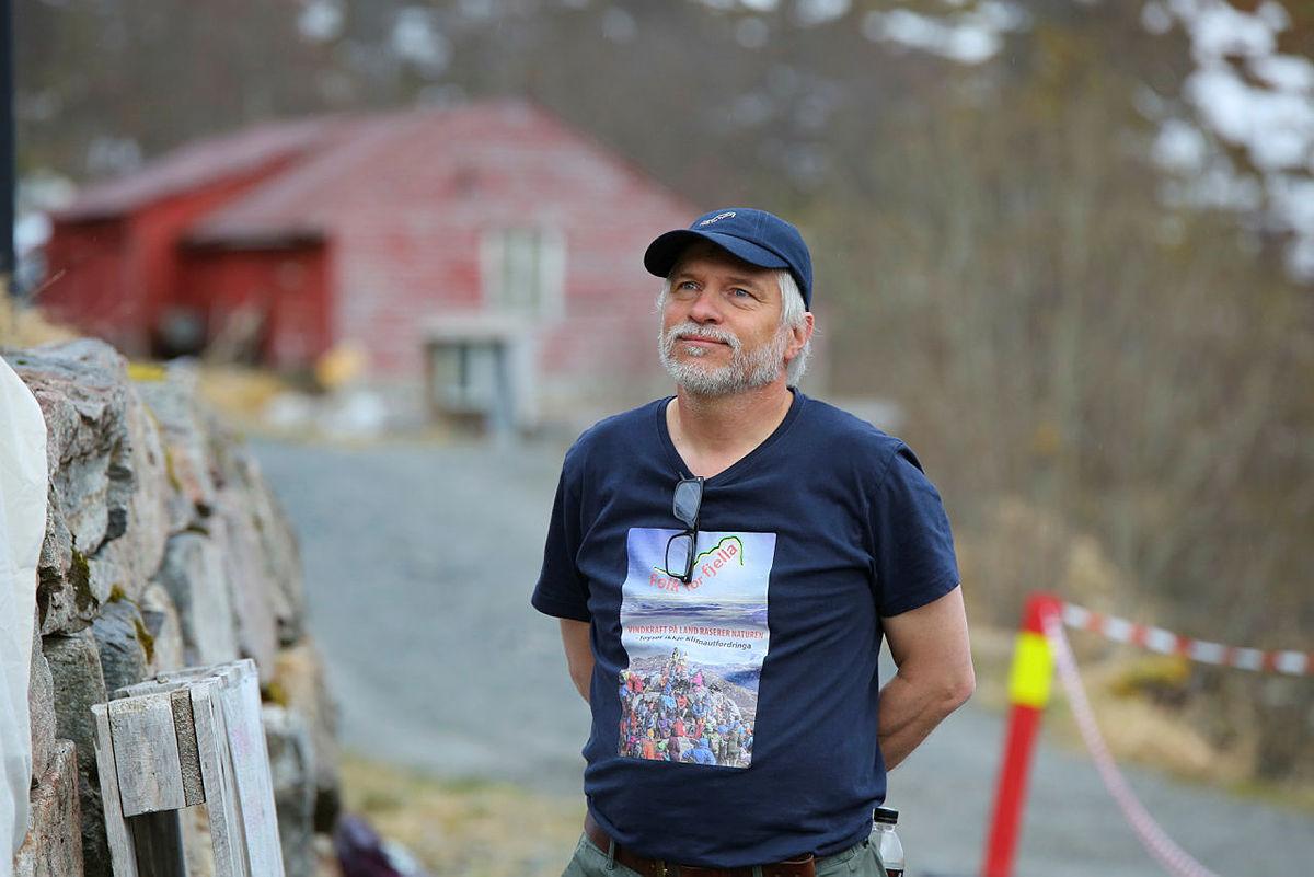 Arnold Matre i Folk for Fjella var initiativtager til markeringen i Stordalen og fikk mange med seg på laget.