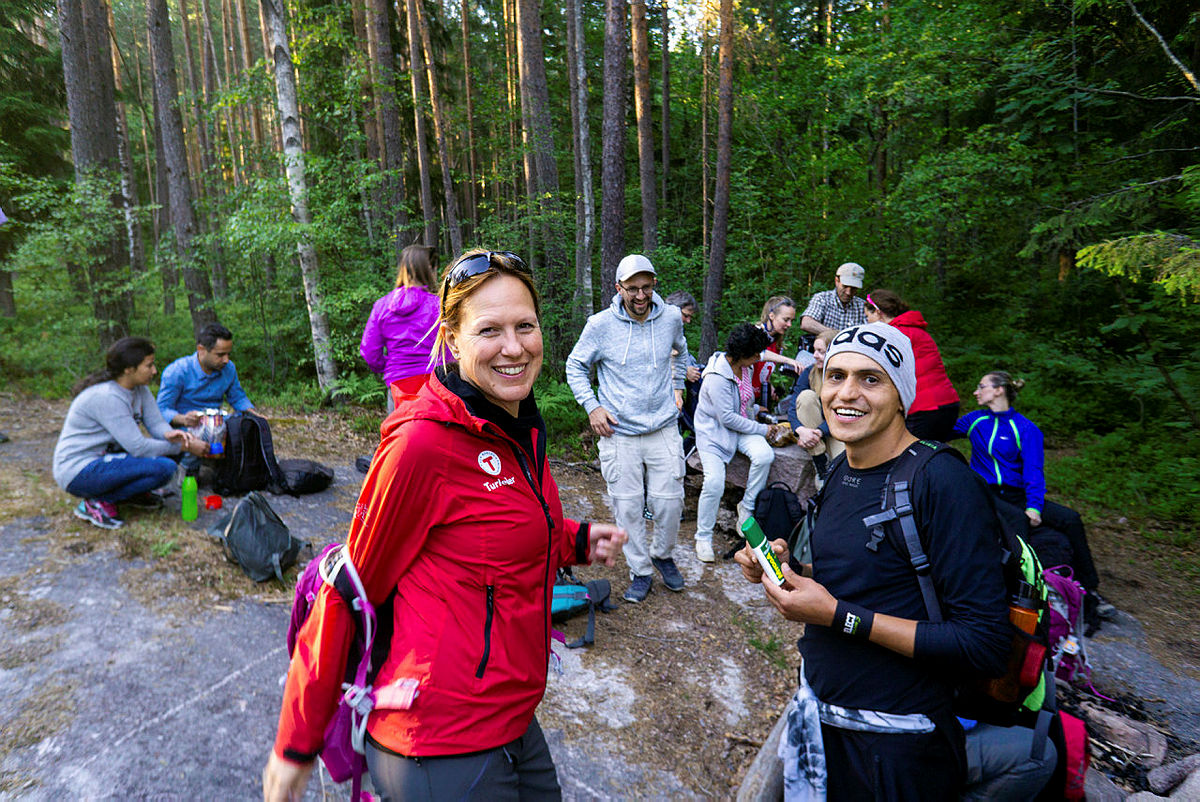 Internasjonal mandagstur til Barlindåsen