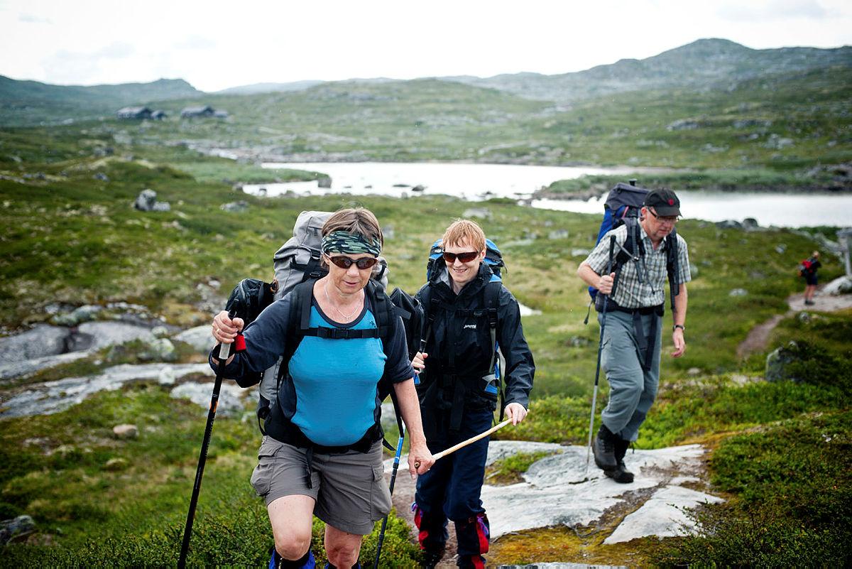 Tur over Hardangervidda med Hodr, idrettslag for blinde og svaksynte