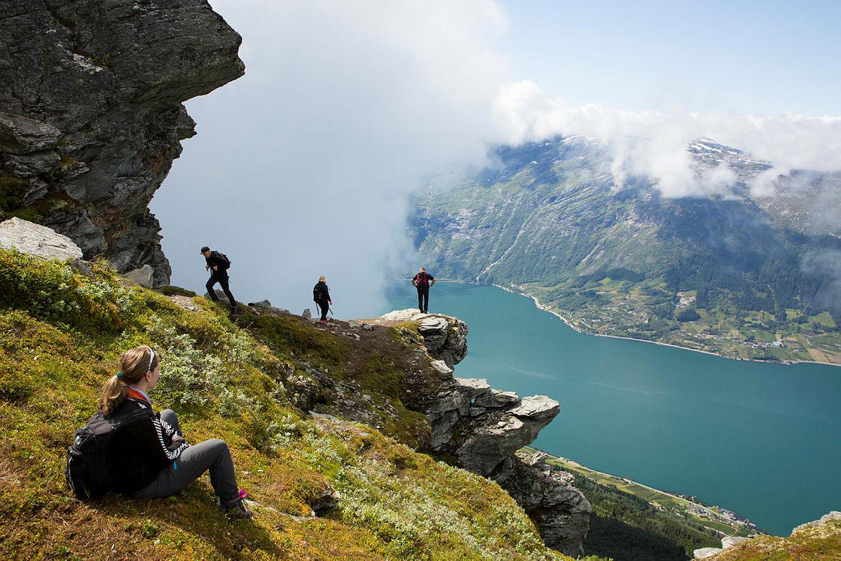 Anbefalte fjord til fjell-turer
