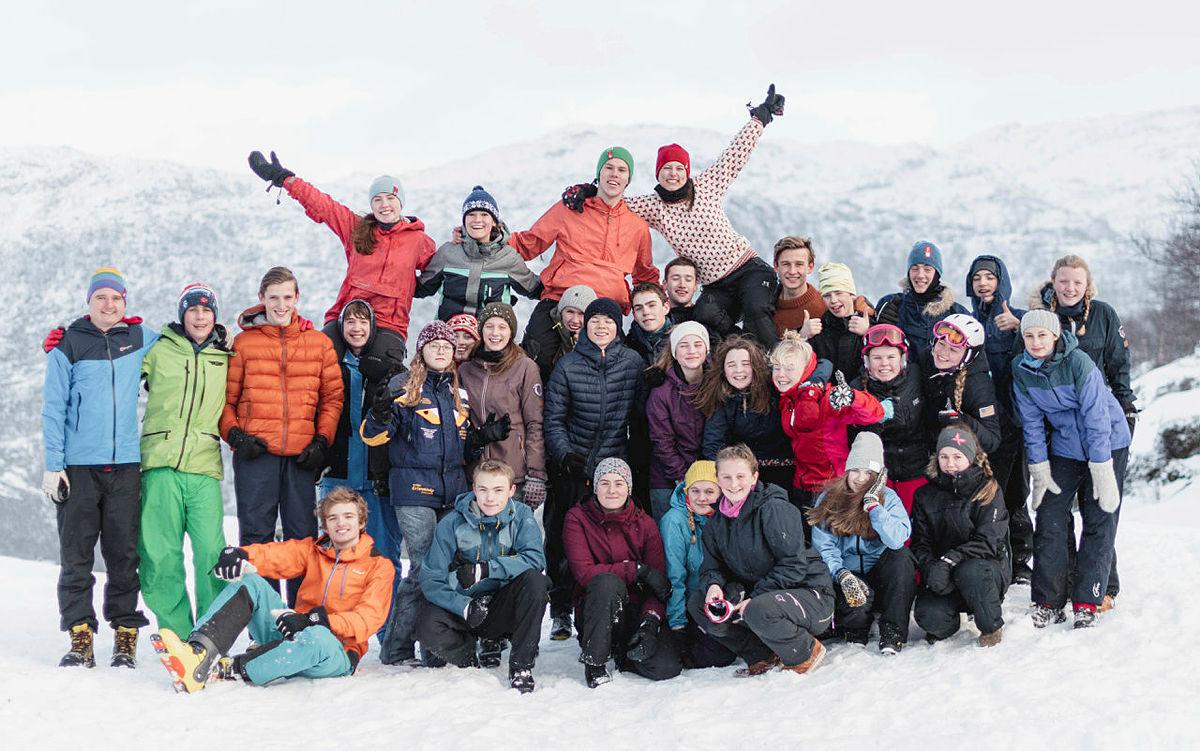 Førjulstur med DNT ung Stavanger til Ådneram