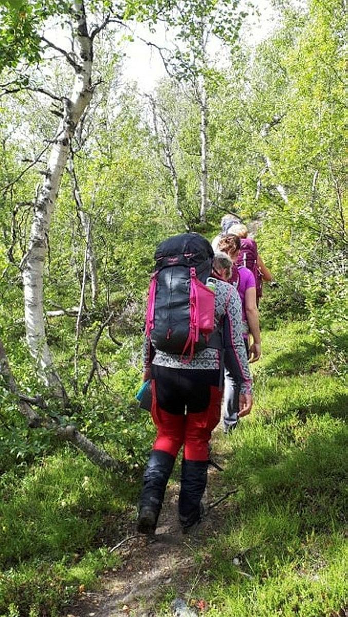 Siste etappe gjennom Grøndalen.