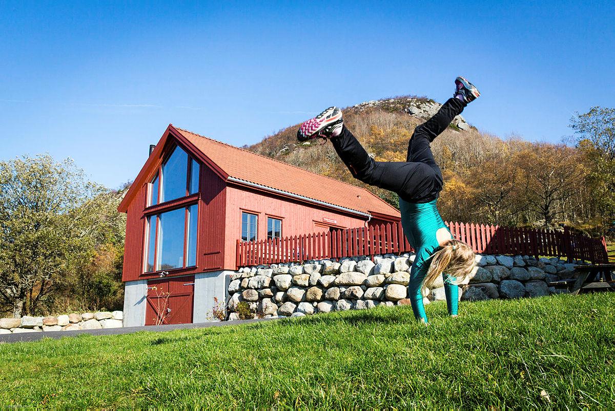 Besøk sommerkafeen på Gramstad i sommer