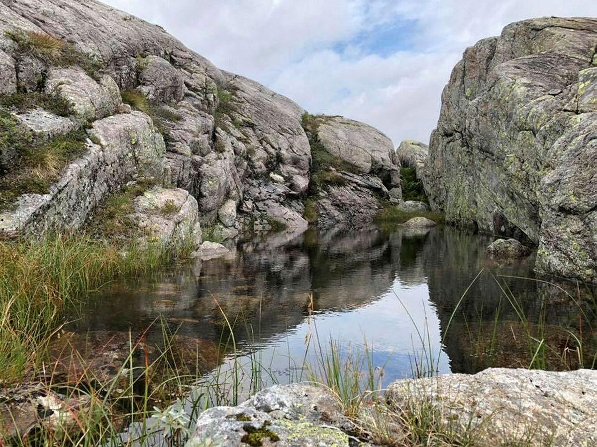 Badekulpen ved Grautheller er et fantastisk syn!
