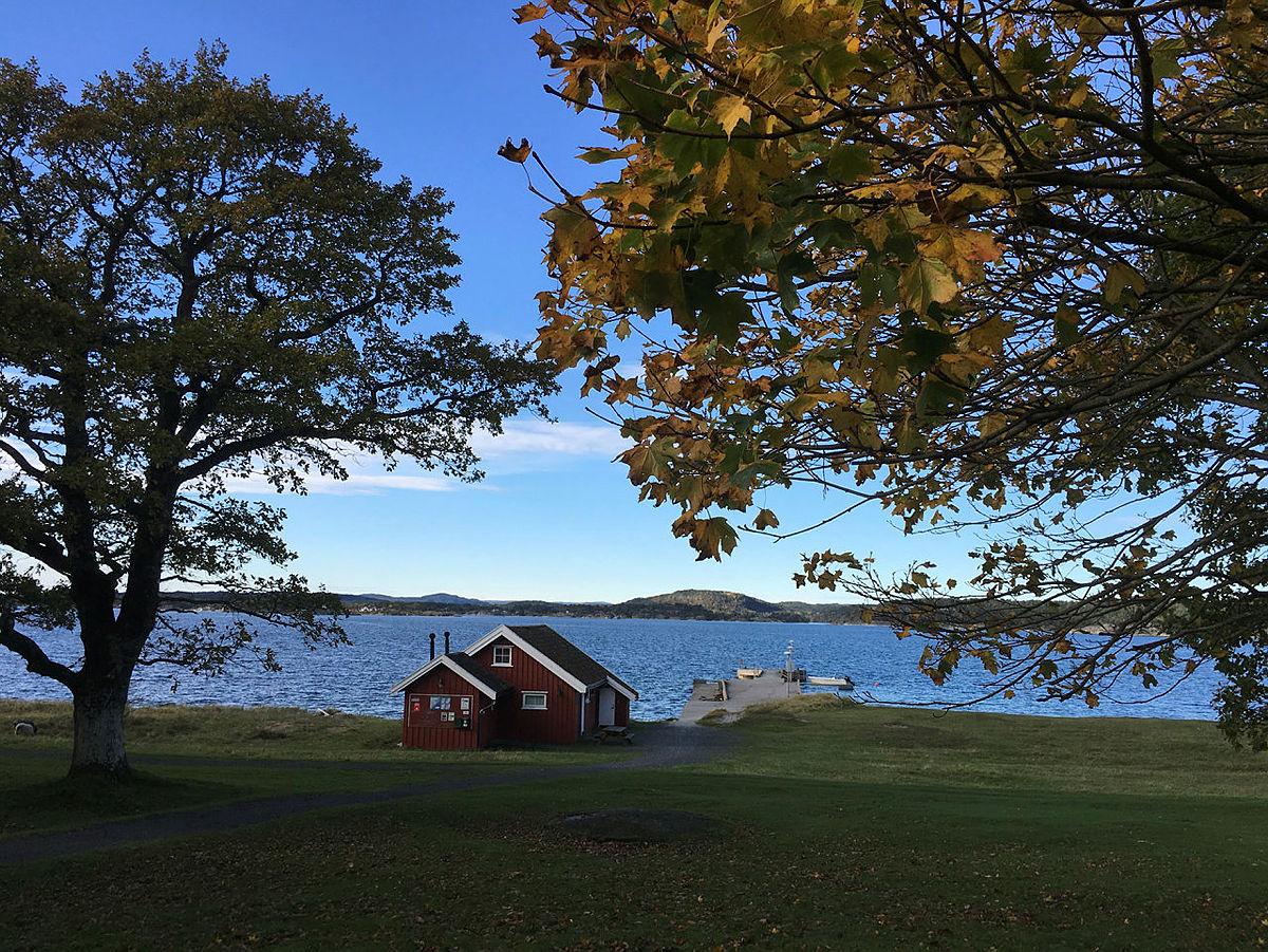 Høst ved Øitangen.