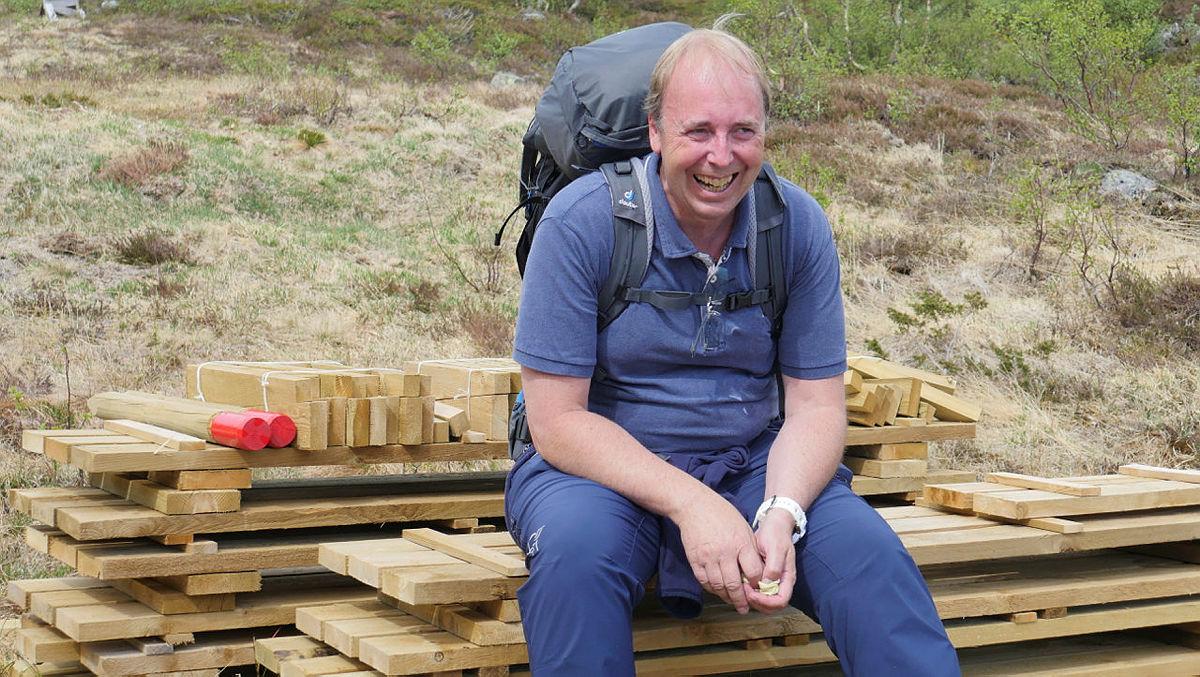 EN SLITSOM JOMFRUTUR: John Anton satt seg oppover Kvildal første gang han besøkte Stranddalen i fjor, men etter en sesong på Stranddalen har han virkelig endret seg på så mange områder.