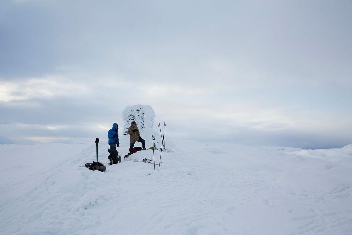 Toppen av Mykkeltveitveten (1131 moh.).