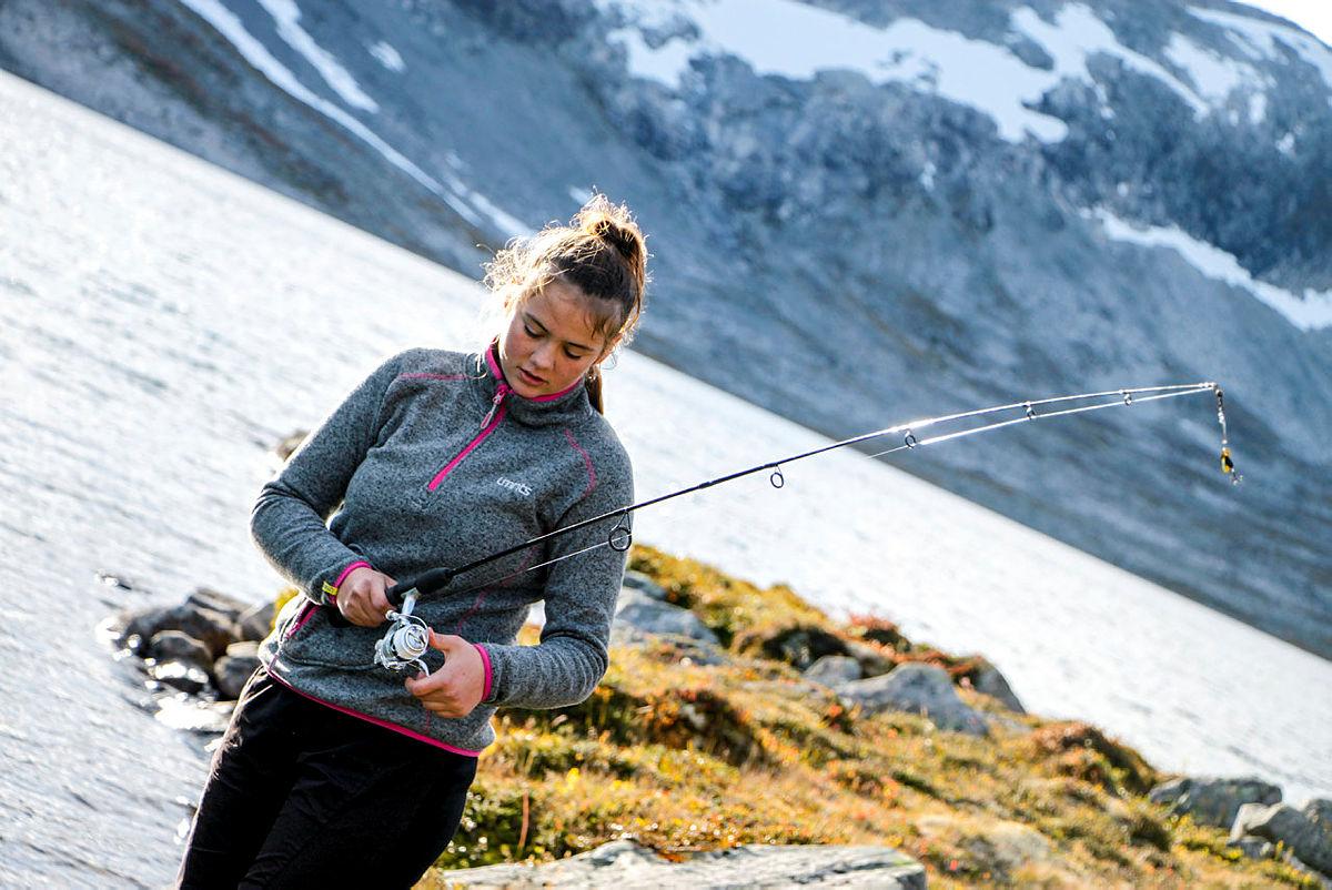 DNT ung-fellestur i Tafjordfjella, Ingrid Leivestad