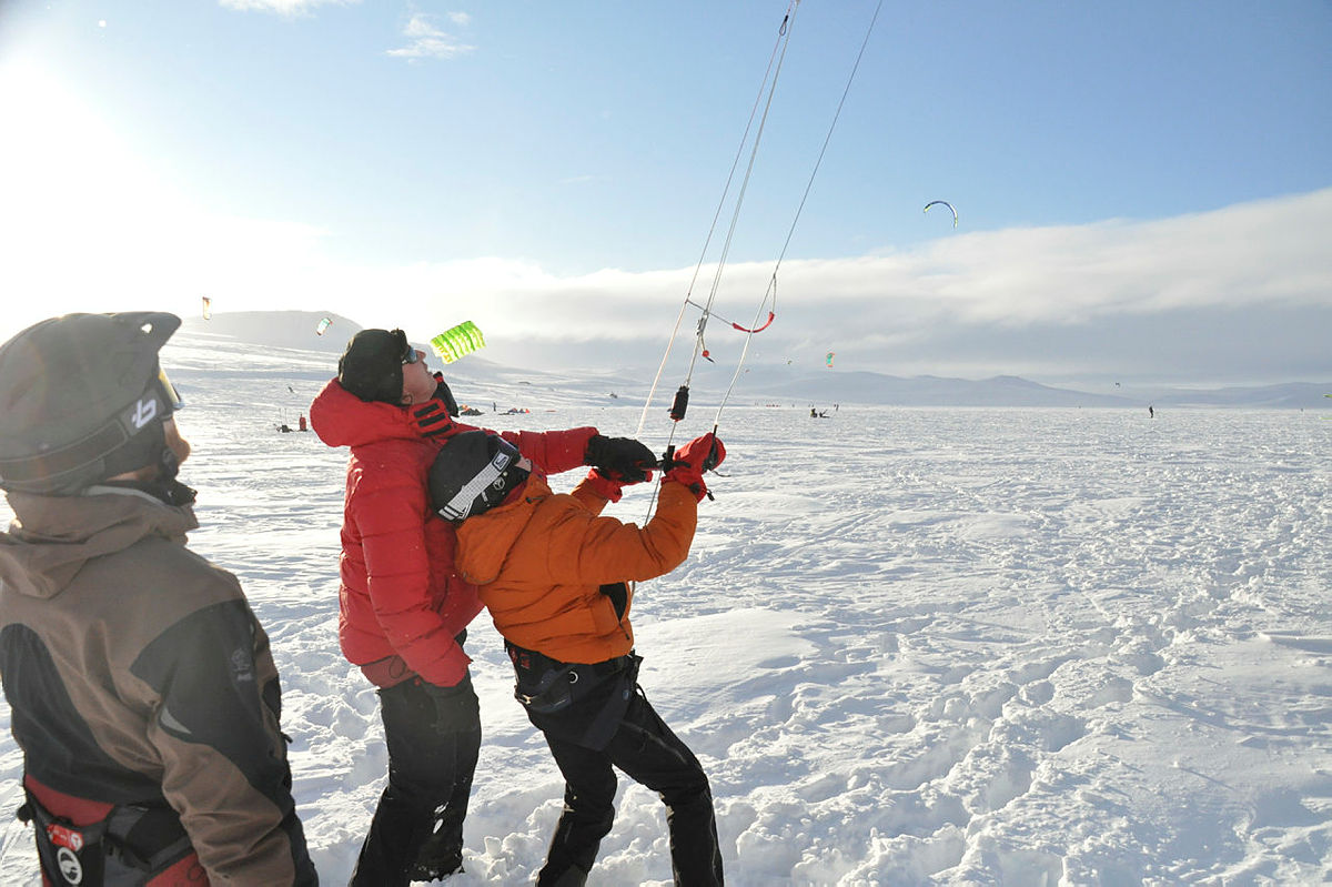 Kitehelg på Haugastøl
