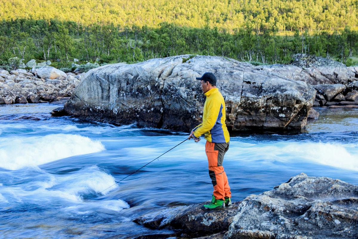Flotte områder for fiske.