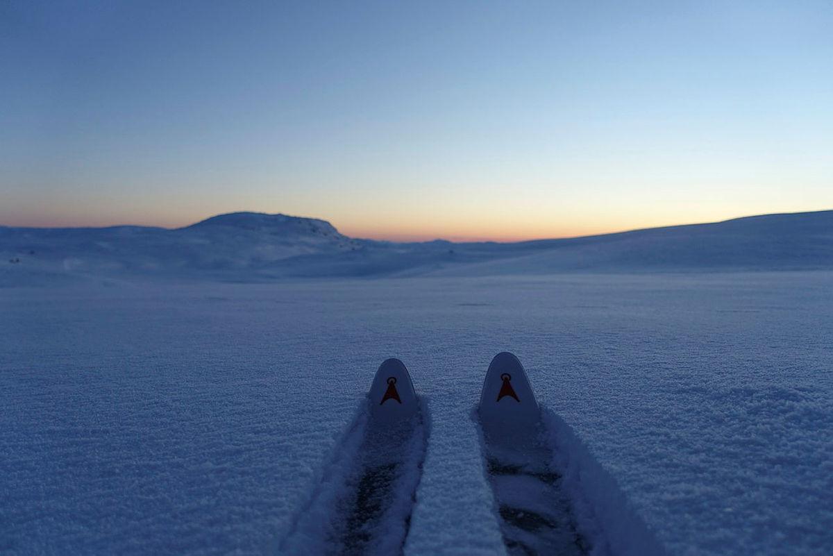 Vinterturlederkurs, helg 2 i Stølsheimen, 2021.