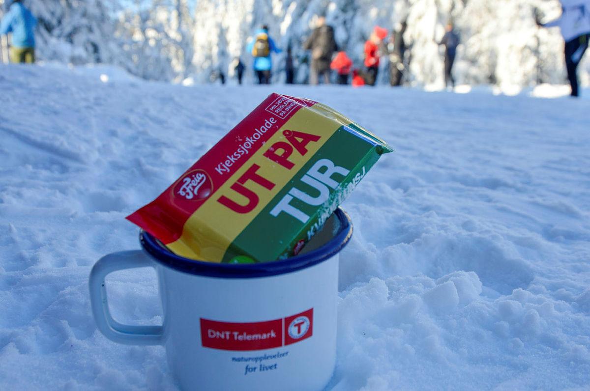 Vinteren holder seg i Sauheradfjella