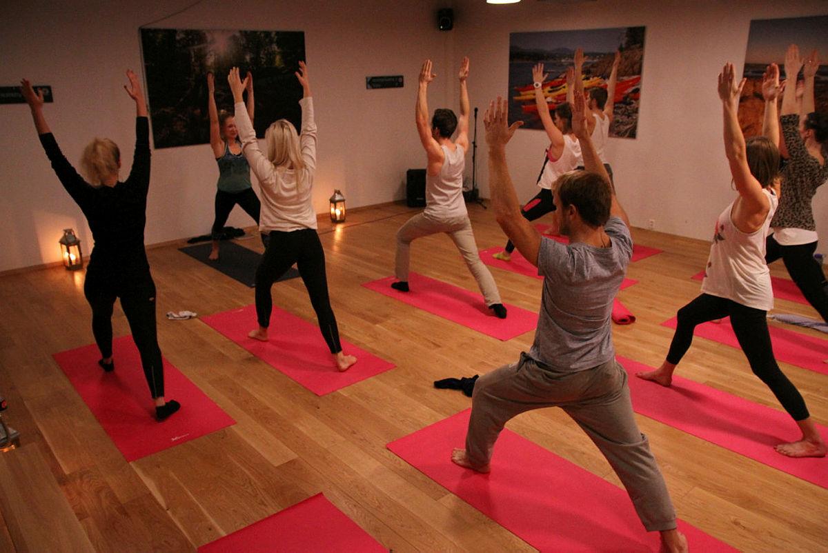 Yoga-kurs på Friluftshuset