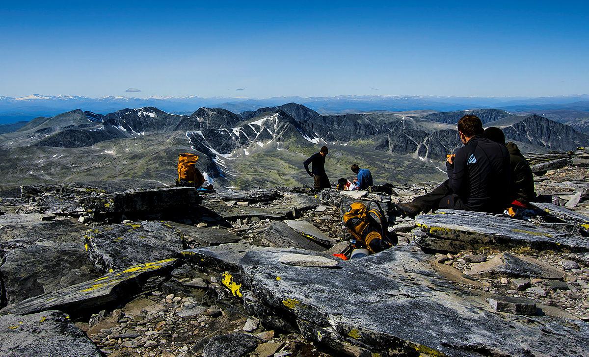 DNT-tur i fjellet: Mest ledig i august