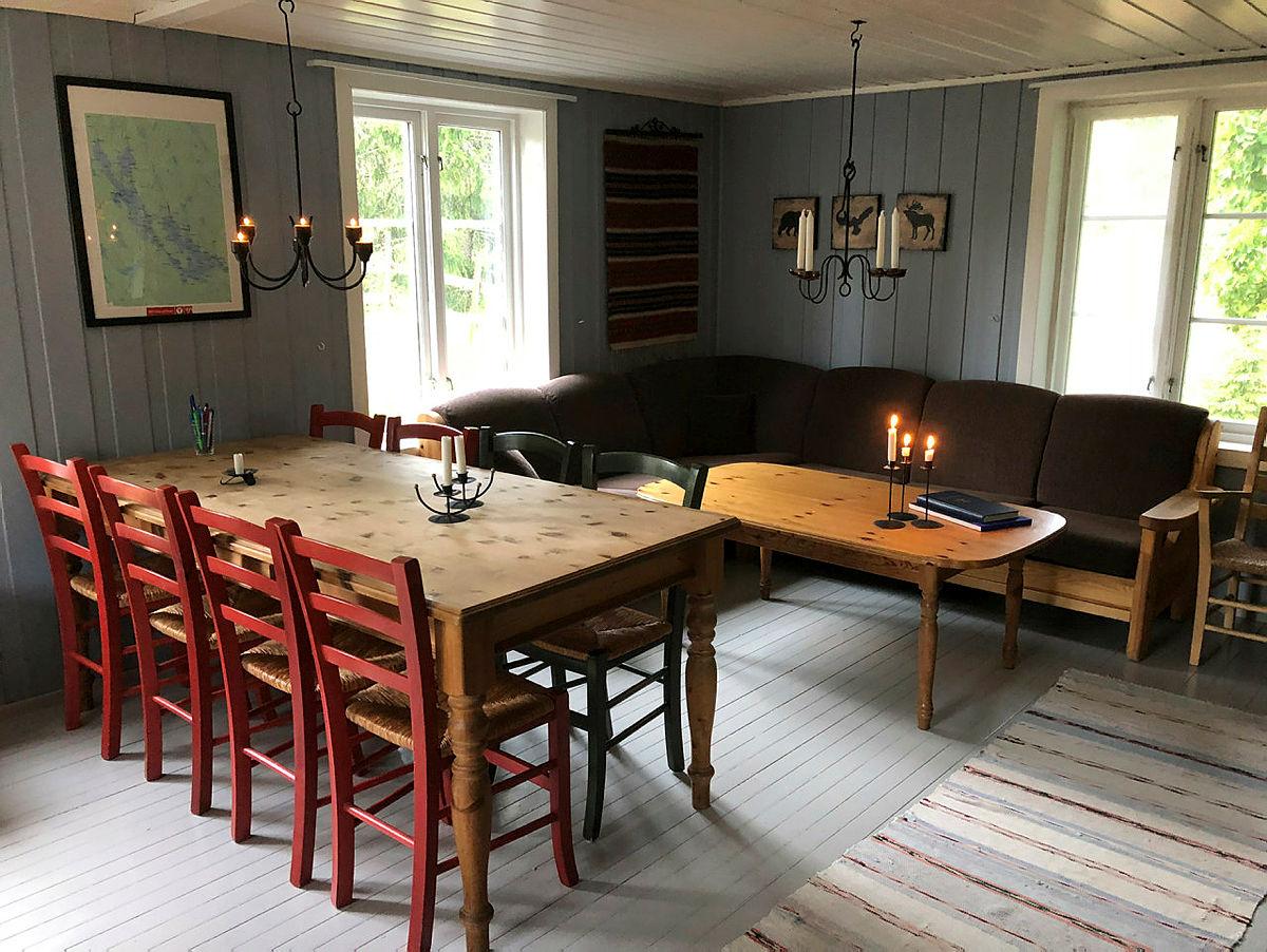 Hva med en tur til den koselige DNT-hytta Øvresaga i Østmarka?