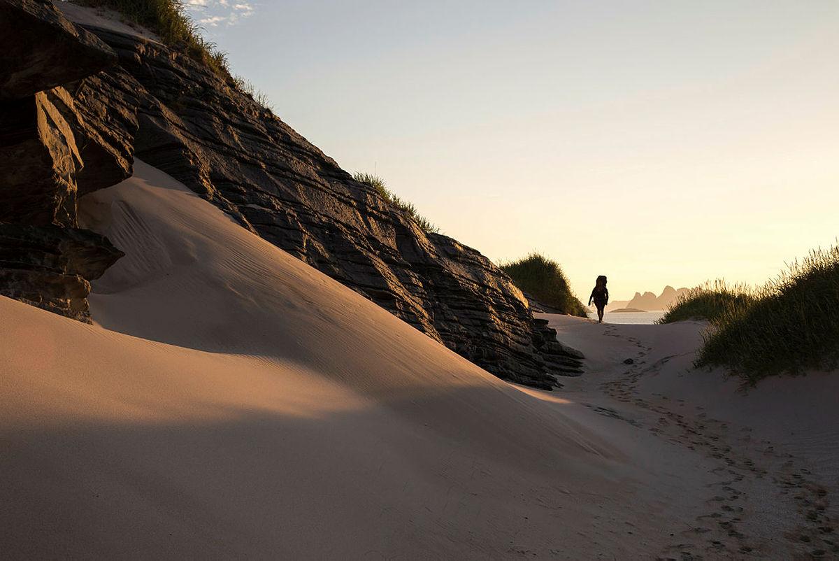 """Sørøya i Finnmark er en av de tolv ukjente turperlene beskrevet i """"Kunsten å vandre""""."""