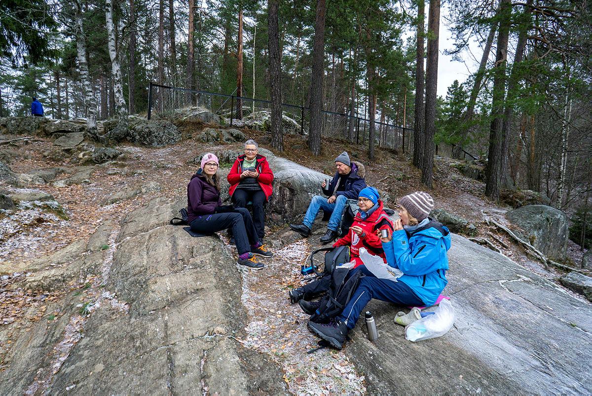 Internasjonal søndagstur i Østmarka