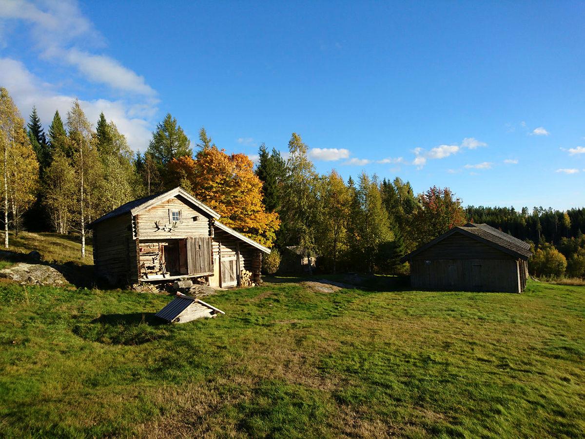 Kvåho/Sørli gammelt skogfinsk torp som ligger langs Finnskogleden og Finnskogrunden