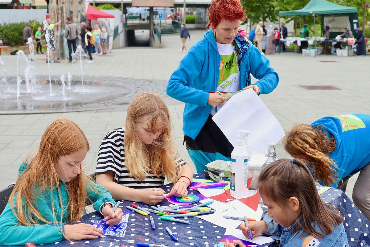 Aktiviteter med Pippis kunstskoleer